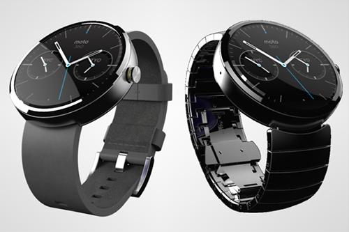 Đồng hồ Moto 360 sẽ sử dụng màn hình AMOLED phủ sapphire và tích hợp sạc không dây?