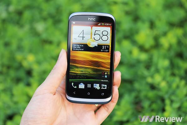 Đánh giá điện thoại HTC Desire X