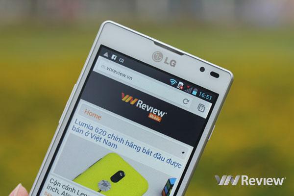 Đánh điện thoại LG Optimus L9
