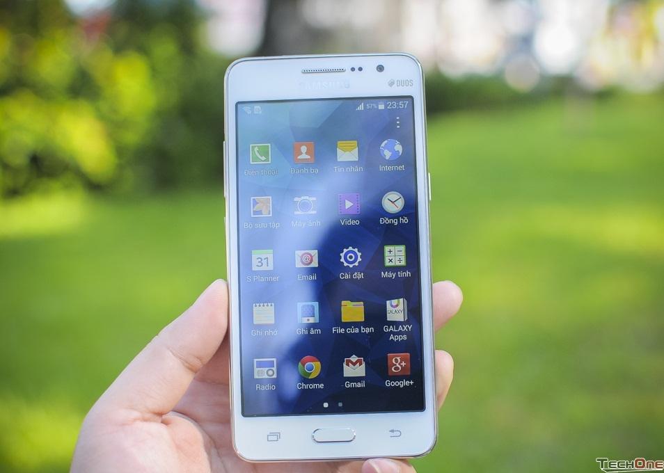 Đánh giá nhanh điện thoại Samsung Galaxy Grand giá rẻ