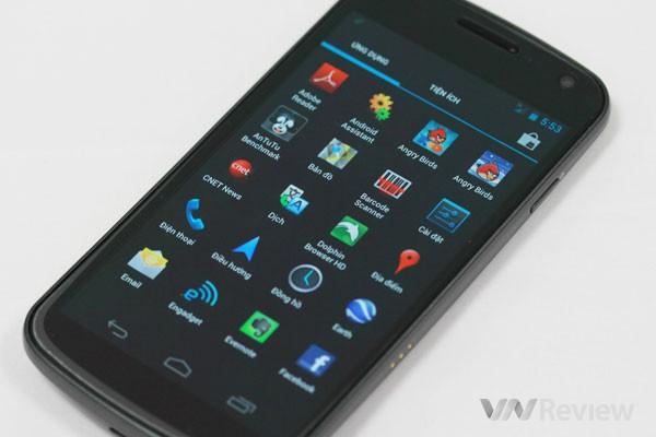 Đánh giá Samsung Galaxy Nexus