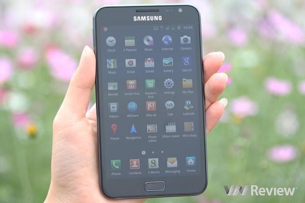 Đánh giá Samsung Galaxy Note