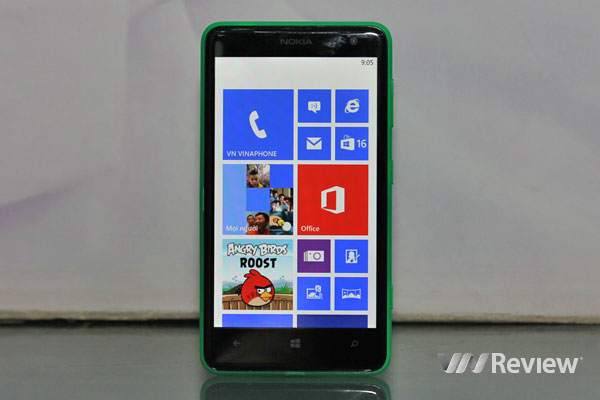 Đánh giá điện thoại Nokia Lumia 625