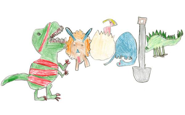 Bức ảnh đoạt giải nhất 30.000 đô của cuộc thi Google Doodle 4