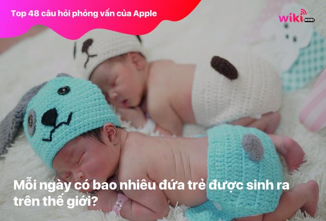 Mỗi ngày có bao nhiêu đứa trẻ được sinh ra trên thế giới?