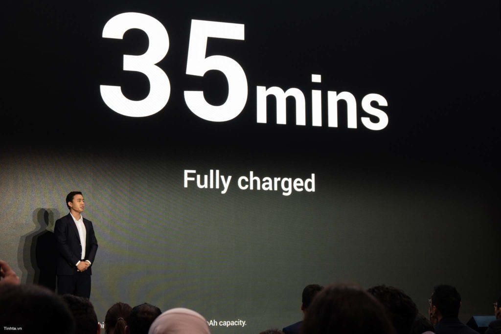 Công nghệ Super VOOC giúp Oppo Find X phiên bản Lamborghini sạc đầy trong 35 phút