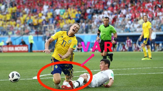 Công nghệ VAR khiến Hàn Quốc thua trước Thụy Điển