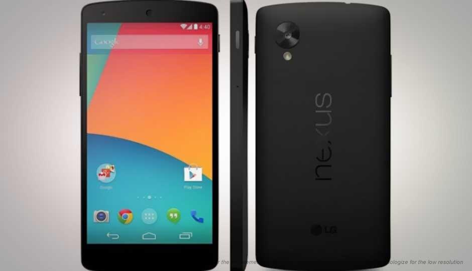 Đánh giá nhanh điện thoại LG Nexus 5