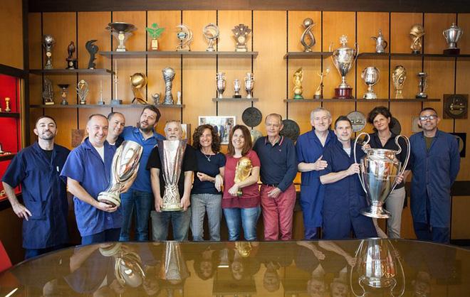 Đội ngũ tài năng của GDE Bertoni