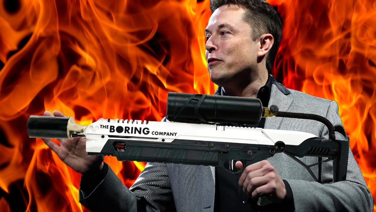 Elon Musk đã giúp The Boring Company bán được 1000 súng phun lửa