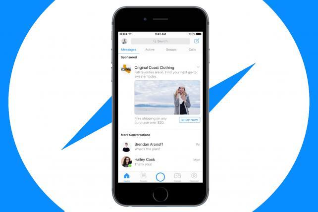 Facebook Messenger sẽ đăng quảng cáo video tự động bên trong ứng dụng