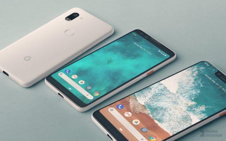 Google Pixel 3 và Pixel 3 XL lộ thiết kế trước khi ra mắt vào tháng 10