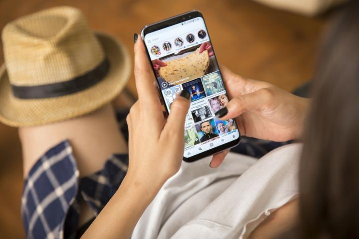 Instagram có lượng người dùng là giới trẻ lớn