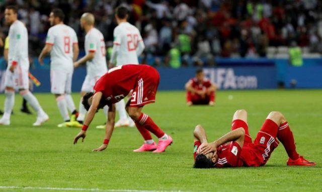 Iran gục ngã trước Tây Ban Nha