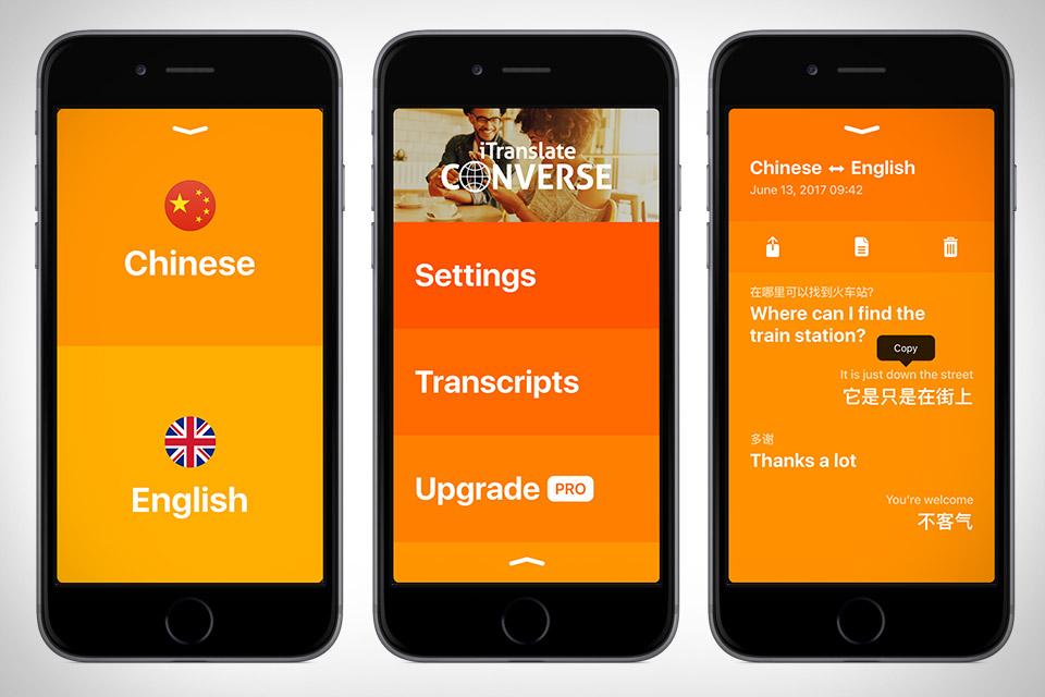 iTranslate Converse - ứng dụng dịch thuật