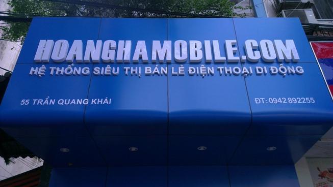 Mua iPhone uy tín tại HoangHaMobile