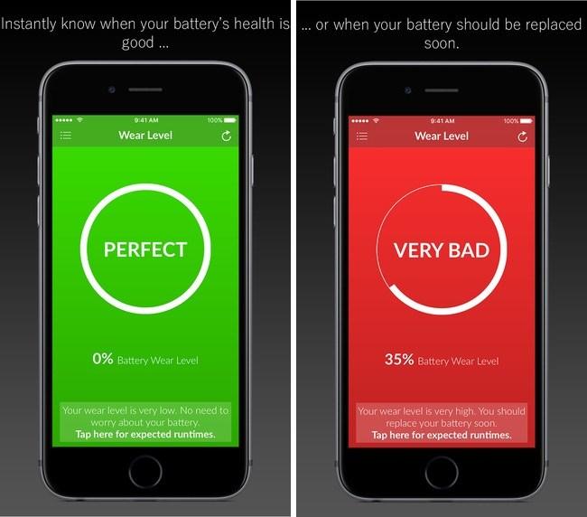 Ứng dụng kiểm tra pin trên iPhone có chính xác không?