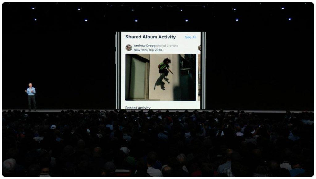 Ứng dụng Photos mới trên iOS 12