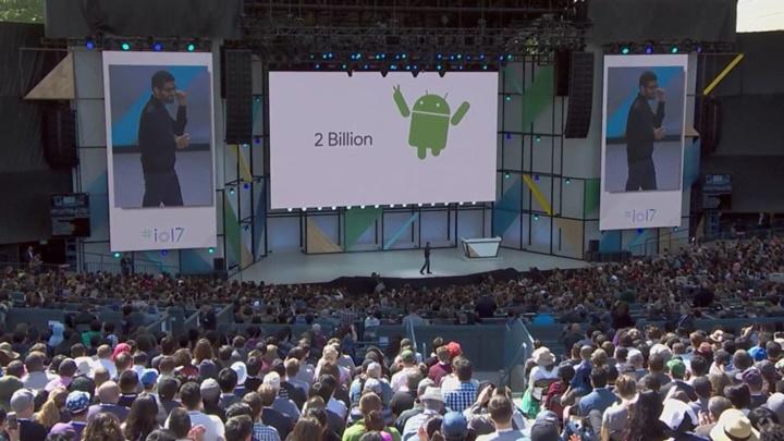 2 tỉ thiết bị Android hoạt động mỗi tháng và đang tăng trưởng từng ngày