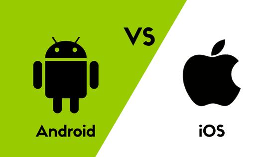 Cuộc chiến giữa hai hệ điều hành phổ biến nhất iOS và Android