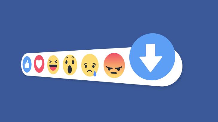 Facebook tiếp tục thử nghiệm nút Downvote cho nền tảng của mình