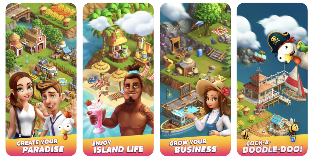 Giao diện game Funky Bay