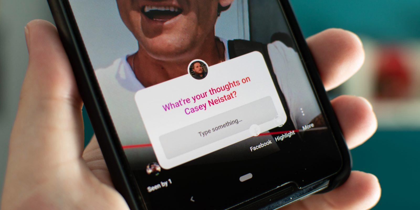 Instagram ra mắt tính năng mới Question Sticker cho Stories