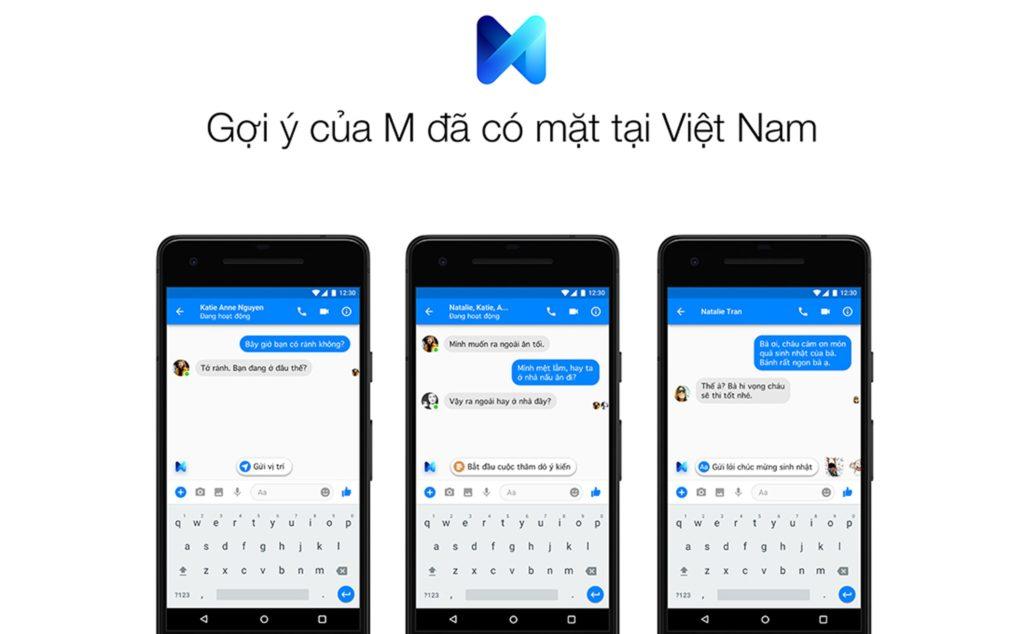 Messenger M đã có mặt tại Việt Nam