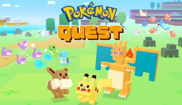 Pokemon Quest chính thức ra mắt trên iOS và Android miễn phí