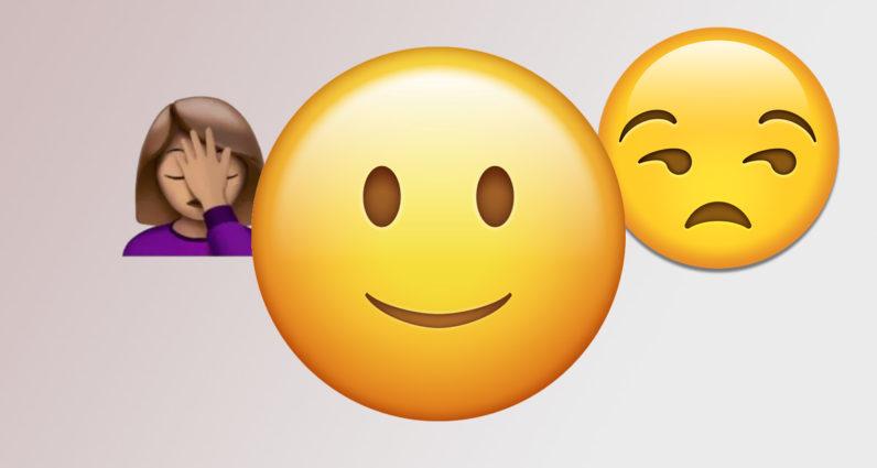 Tại sao mọi người ghét Emoji mặt cười?