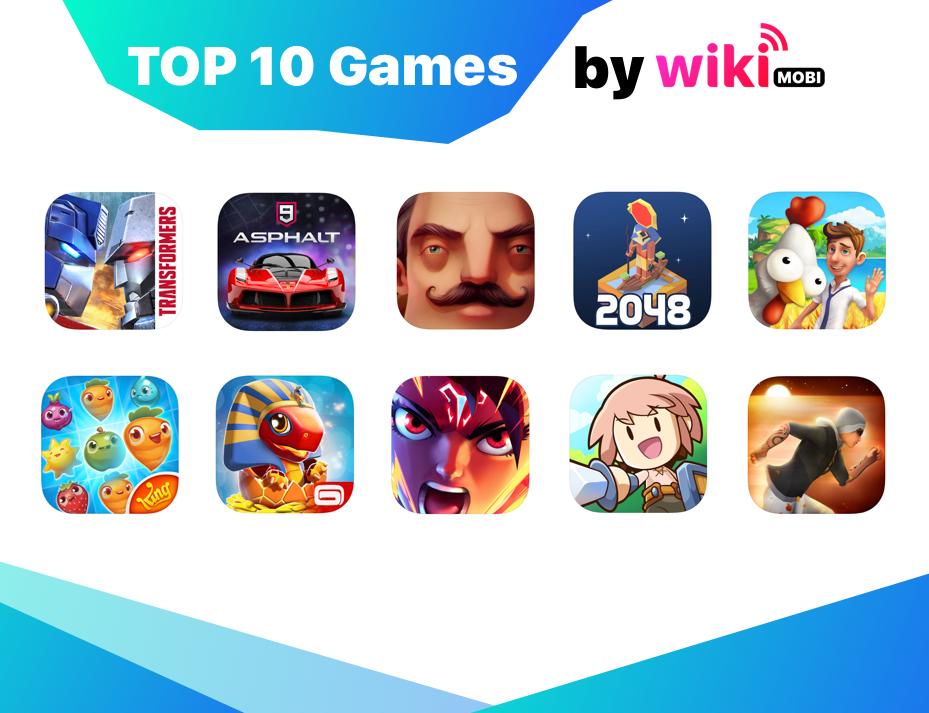 Top 10 game iOS và Android hot nhất tháng 8/2018