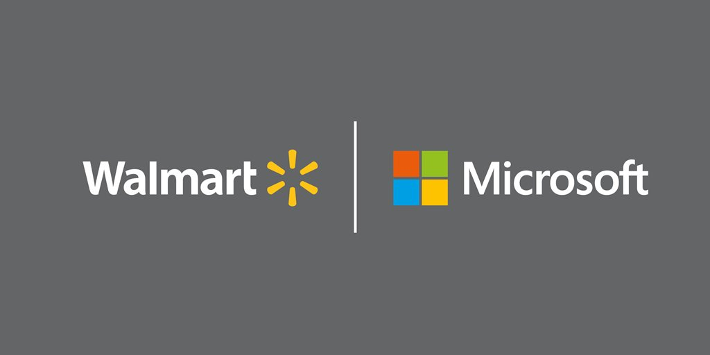 Walmart hợp tác với Microsoft: Mục tiêu lật đổ Amazon