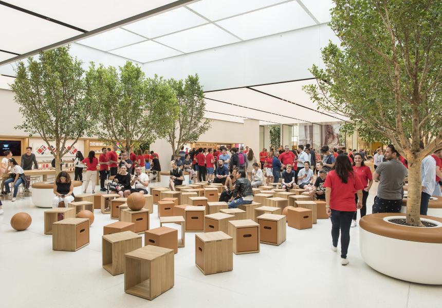 Apple tham vọng có hơn 600 cửa hàng Apple Store trong năm 2023
