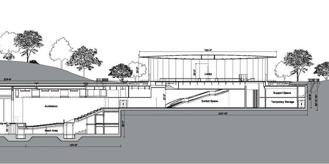 Bản vẽ Steve Jobs Theater Apple Park