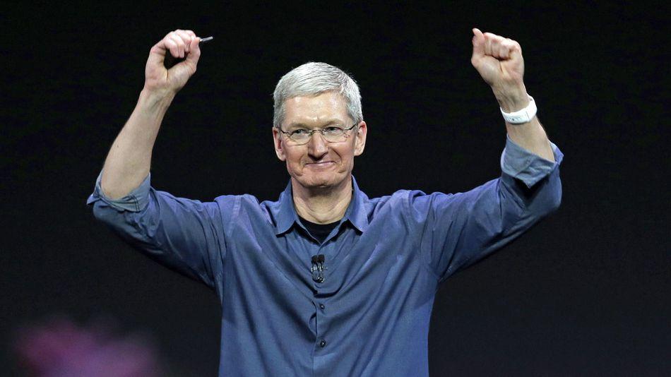 CEO Tim Cook quyên góp từ thiện 5 triệu USD cổ phiếu của Apple