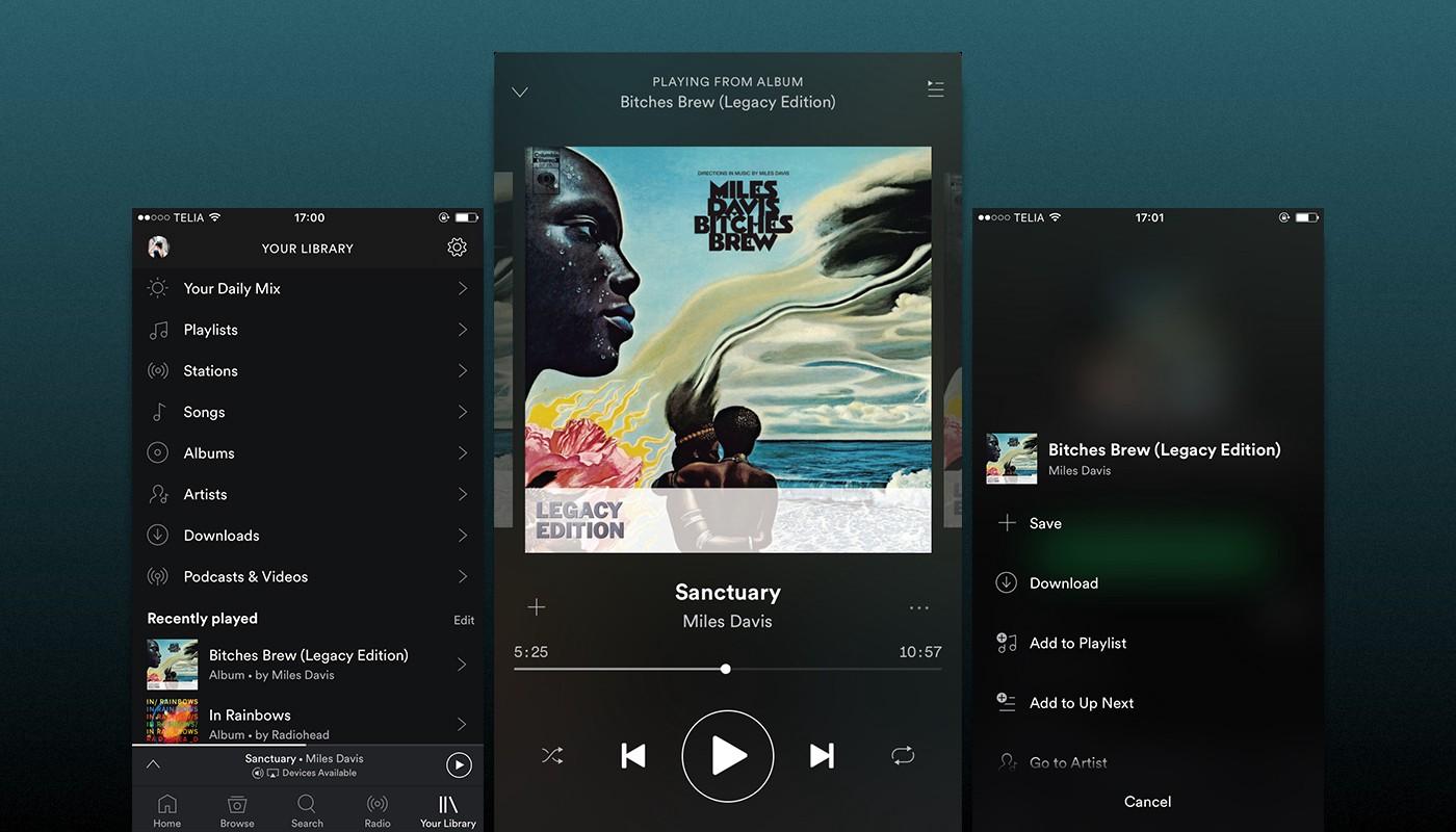Hướng dẫn hẹn giờ tắt nhạc Spotify trên iOS và Android