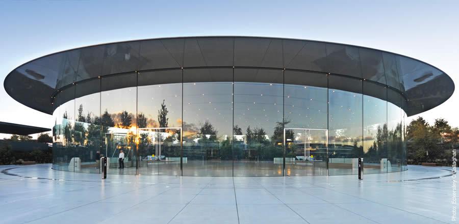 Lo rằng sẽ bị sao chép, Apple đăng ký bản quyền thiết kế nhà hát Steve Jobs