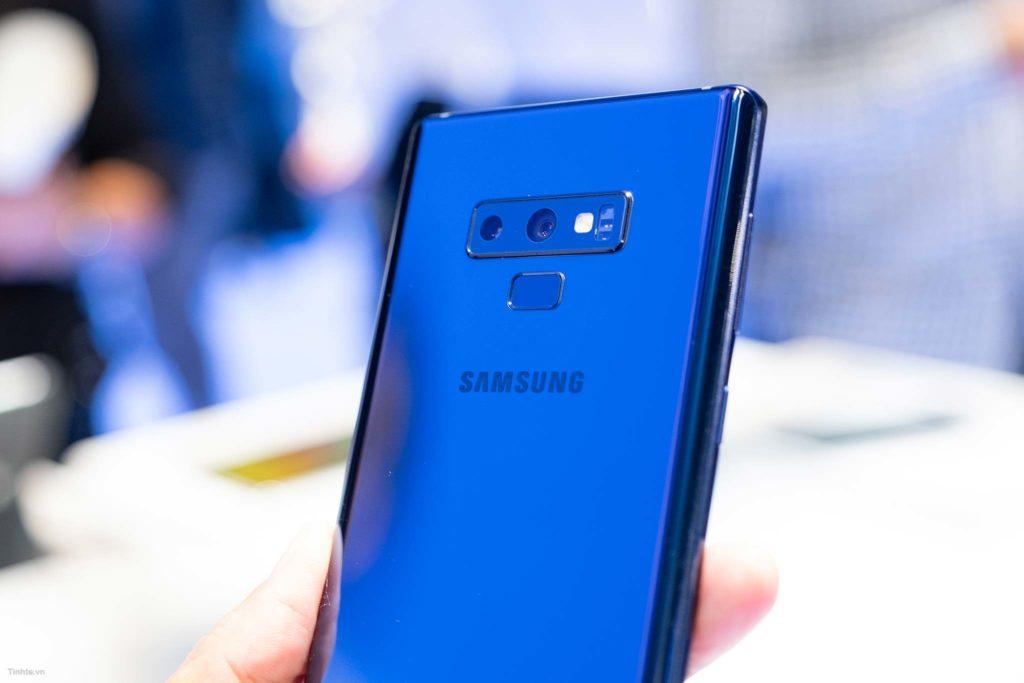 Mặt sau Galaxy Note9