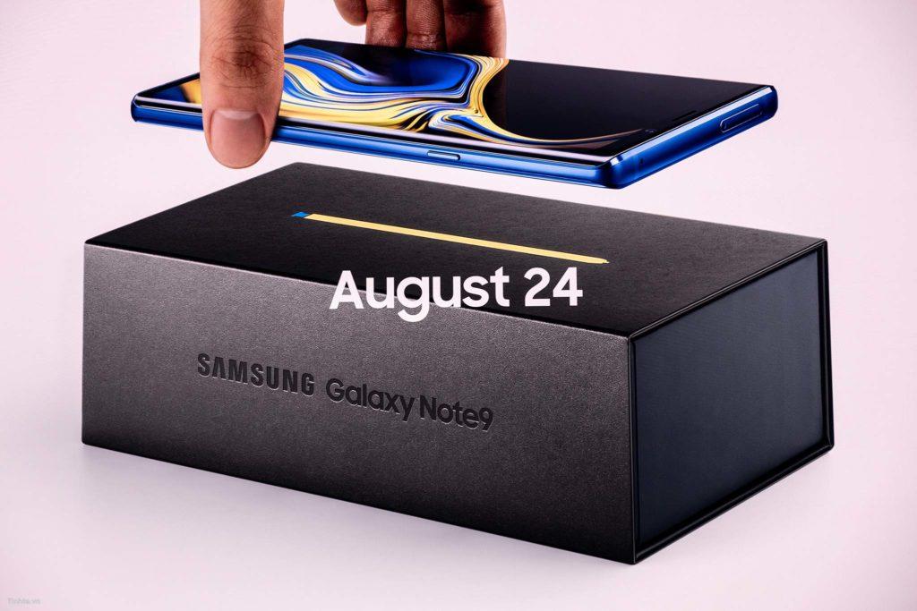 Note9 sẽ được bán vào ngày 24/08/2018