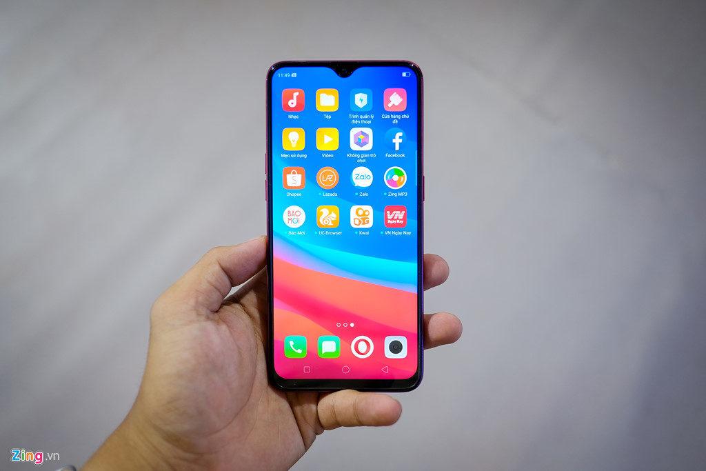 Oppo F9 chính thức về Việt Nam