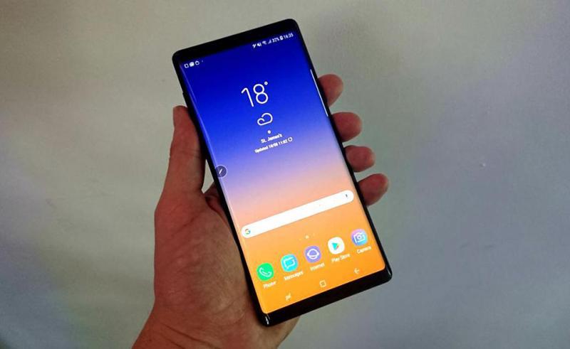 Samsung giải thích tại sao Galaxy Note9 lại giống Note8