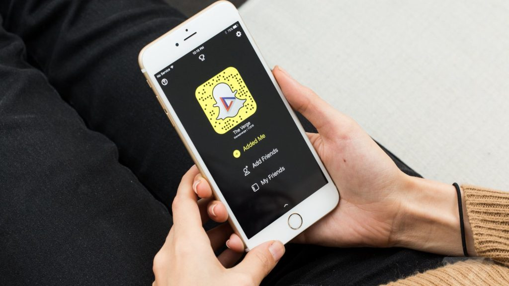 Snapchat rất phổ biến tại Mỹ