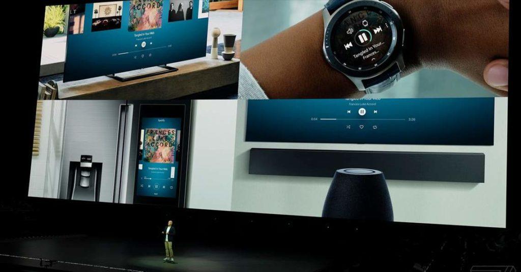 Spotify trở thành đối tác của Samsung