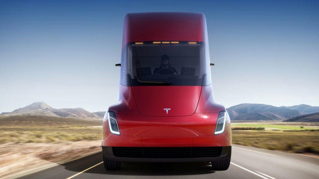 Tesla Semi là niềm tự hào xe tải tự lái của Tesla