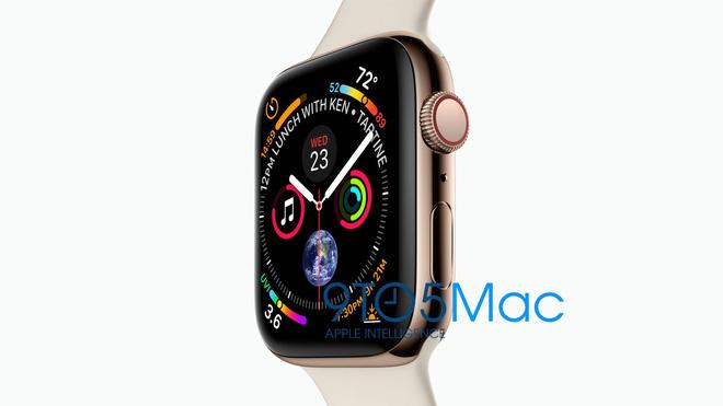 Thiết kế của Apple Watch Series 4 chính thức lộ diện: Jony Ive lại cho thấy tài năng của mình