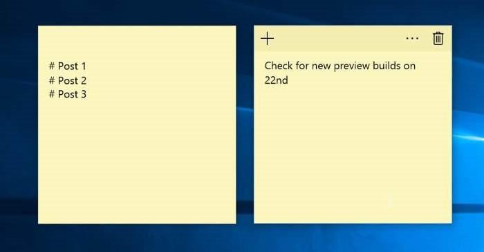 Ứng dụng ghi chú Sticky Notes trên Windows 10 sắp cập bến Android và iOS