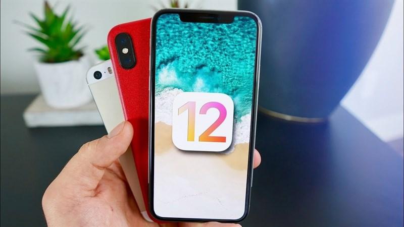 Những thiết bị nào có thể cập nhật iOS 12? iPhone đời cũ có cập nhật được không?