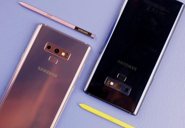 Rò rỉ giao diện Samsung Experience 10 – Galaxy Note9