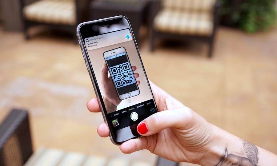 Hướng dẫn quét mã QR Code trực tiếp bằng iPhone