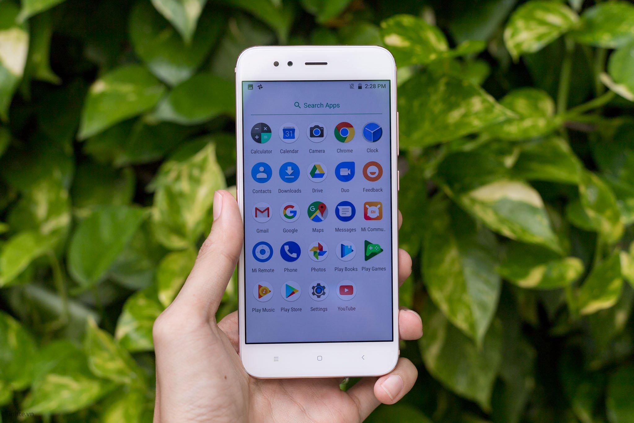 Đánh giá nhanh Xiaomi Mi A1: Màn hình, Camera, hiệu năng